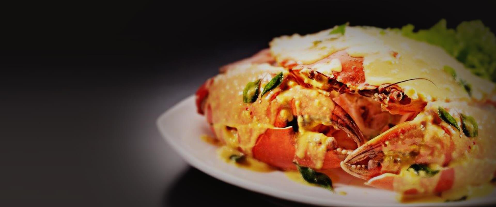 <p>Award-Winning Chilli Crab</p> <p>Voted the Best Pepper Crab</p>