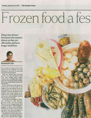 Frozen Food a Festive Hit!